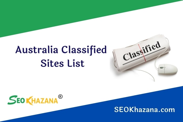 Free Australia Classified Sites List