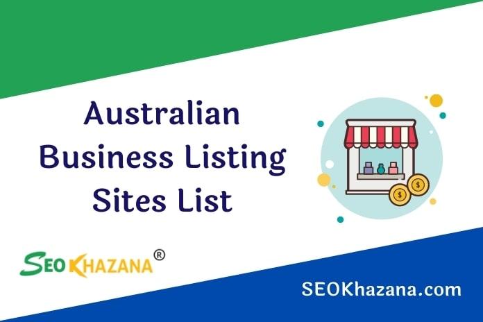 Australian Business Listing Sites List