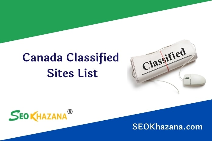 Free Canada Classified Sites List
