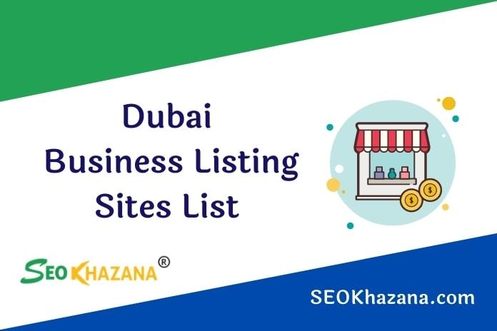 Dubai Business Listing Sites List