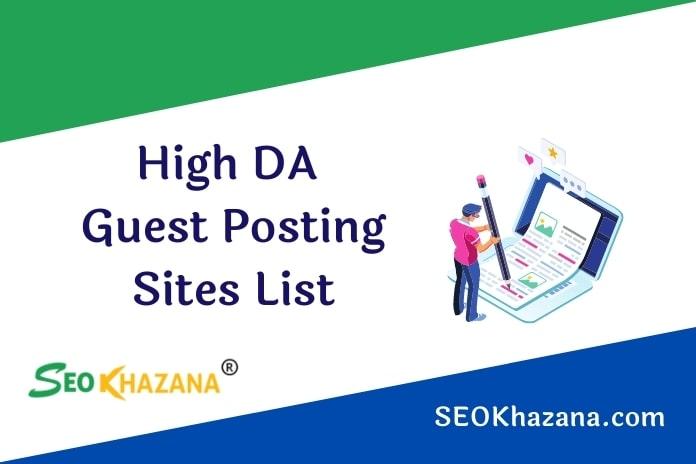 High DA Dofollow Guest Posting Sites List