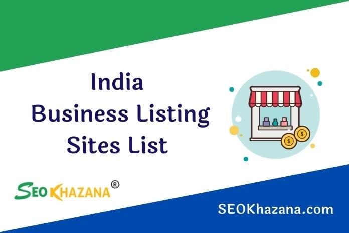 India Business Listing Sites List