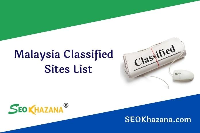 Free Malaysia Classified Sites List