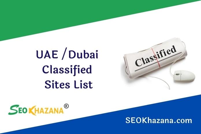 UAE Dubai Classified Sites List
