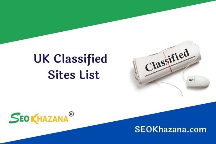 UK Classified Sites List