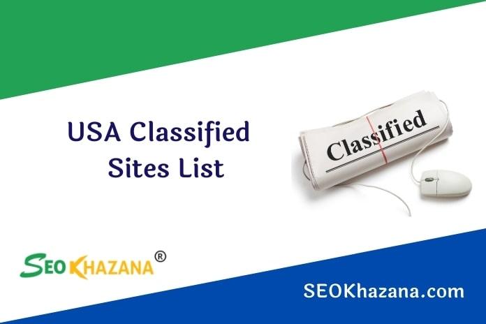 USA Classified Sites List