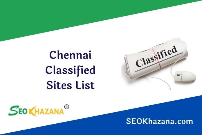 Chennai Classified Sites List
